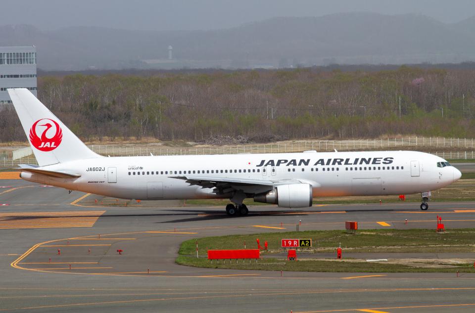 M.Chihara_1さんの日本航空 Boeing 767-300 (JA602J) 航空フォト