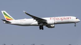 Shotaroさんが、上海浦東国際空港で撮影したエチオピア航空 A350-941の航空フォト(飛行機 写真・画像)