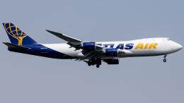 Shotaroさんが、上海浦東国際空港で撮影したアトラス航空 747-87UF/SCDの航空フォト(飛行機 写真・画像)