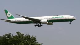 raichanさんが、成田国際空港で撮影したエバー航空 777-35E/ERの航空フォト(飛行機 写真・画像)