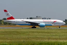 Cozy Gotoさんが、成田国際空港で撮影したオーストリア航空 777-2Q8/ERの航空フォト(飛行機 写真・画像)