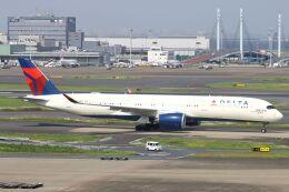 hiroki_h2さんが、羽田空港で撮影したデルタ航空 A350-941の航空フォト(飛行機 写真・画像)
