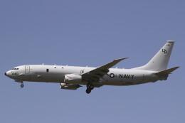 MH-38Rさんが、三沢飛行場で撮影したアメリカ海軍 P-8A (737-8FV)の航空フォト(飛行機 写真・画像)