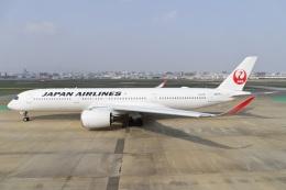 kan787allさんが、福岡空港で撮影した日本航空 A350-941の航空フォト(飛行機 写真・画像)