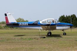 (新)ふぁんとむ改さんが、阿蘇観光牧場飛行場で撮影した日本個人所有 FA-200-180 Aero Subaruの航空フォト(飛行機 写真・画像)