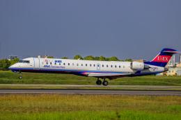 rokko2000さんが、伊丹空港で撮影したアイベックスエアラインズ CL-600-2C10 Regional Jet CRJ-702の航空フォト(飛行機 写真・画像)