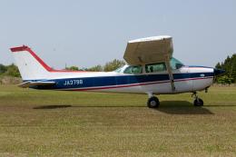 (新)ふぁんとむ改さんが、阿蘇観光牧場飛行場で撮影した日本法人所有 172Lの航空フォト(飛行機 写真・画像)