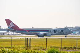 Astechnoさんが、成田国際空港で撮影したカーゴルクス・イタリア 747-4R7F/SCDの航空フォト(飛行機 写真・画像)