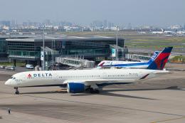 SGR RT 改さんが、羽田空港で撮影したデルタ航空 A350-941の航空フォト(飛行機 写真・画像)