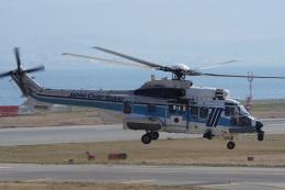 神宮寺ももさんが、関西国際空港で撮影した海上保安庁 EC225LP Super Puma Mk2+の航空フォト(飛行機 写真・画像)