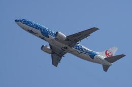 神宮寺ももさんが、関西国際空港で撮影した日本トランスオーシャン航空 737-4Q3の航空フォト(飛行機 写真・画像)