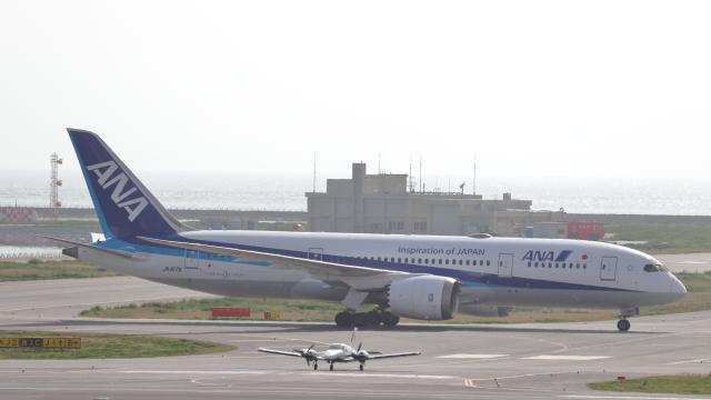 誘喜さんが、那覇空港で撮影した全日空 787-8 Dreamlinerの航空フォト(飛行機 写真・画像)