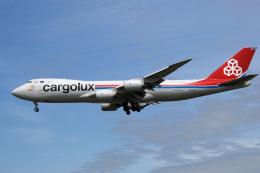 アルビレオさんが、成田国際空港で撮影したカーゴルクス 747-8R7F/SCDの航空フォト(飛行機 写真・画像)