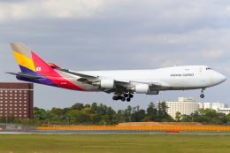 こだしさんが、成田国際空港で撮影したアシアナ航空 747-48EF/SCDの航空フォト(飛行機 写真・画像)