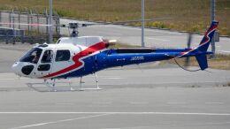 cathay451さんが、神戸空港で撮影したエアバス・ヘリコプターズ・ジャパン AS350B3e Ecureuil (H125)の航空フォト(飛行機 写真・画像)
