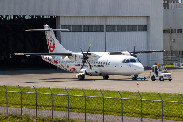 JA1118Dさんが、札幌飛行場で撮影した北海道エアシステム ATR-42-600の航空フォト(飛行機 写真・画像)