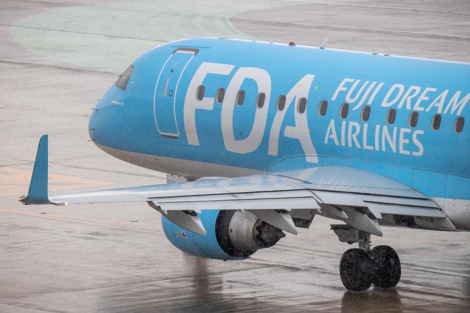 JA1118Dさんのフジドリームエアラインズ Embraer 170 (JA02FJ) 航空フォト