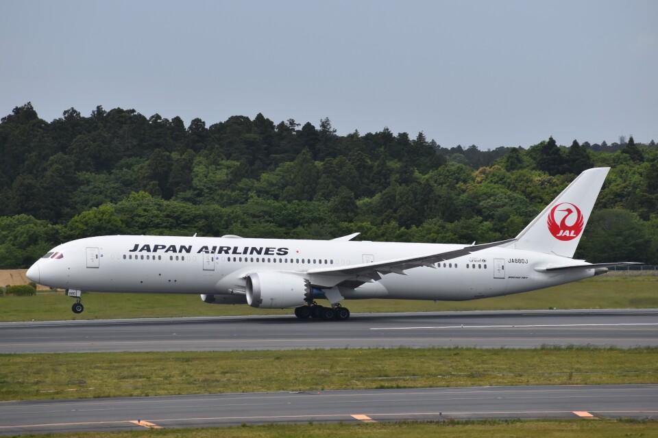 PIRORINGさんの日本航空 Boeing 787-9 (JA880J) 航空フォト