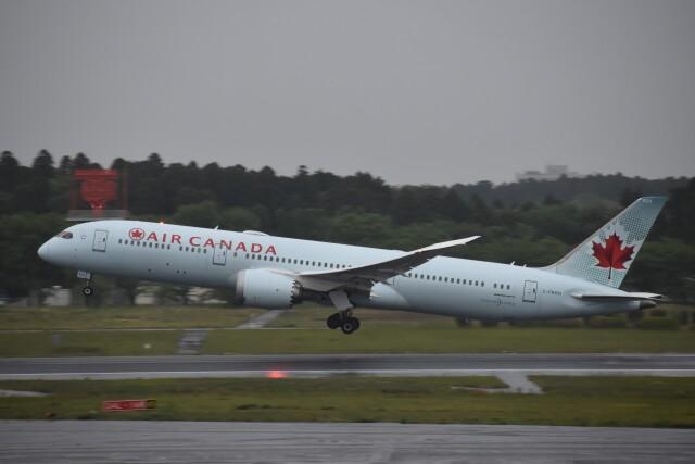 PIRORINGさんが、成田国際空港で撮影したエア・カナダ 787-9の航空フォト(飛行機 写真・画像)