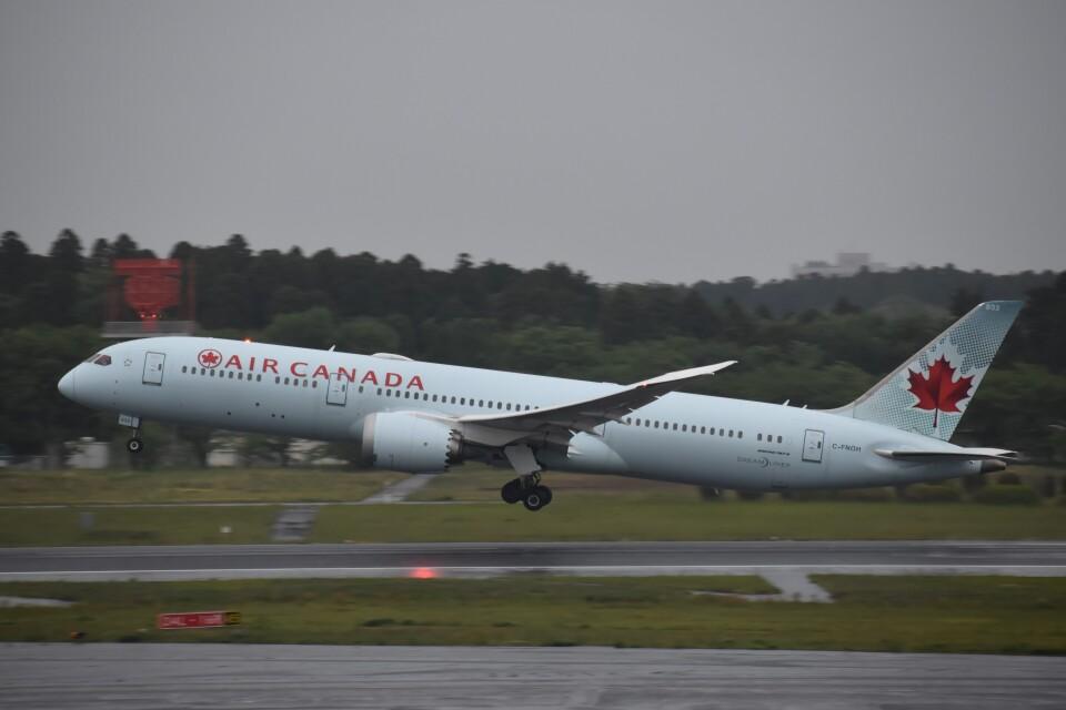 PIRORINGさんのエア・カナダ Boeing 787-9 (C-FNOH) 航空フォト