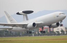 キイロイトリさんが、浜松基地で撮影した航空自衛隊 E-767 (767-27C/ER)の航空フォト(飛行機 写真・画像)
