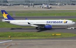 キイロイトリさんが、羽田空港で撮影したスカイマーク A330-343Xの航空フォト(飛行機 写真・画像)