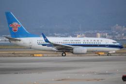 キイロイトリさんが、関西国際空港で撮影した中国南方航空 737-71Bの航空フォト(飛行機 写真・画像)