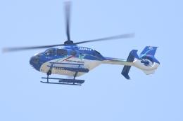 500さんが、自宅上空で撮影した東北エアサービス EC135P2+の航空フォト(飛行機 写真・画像)