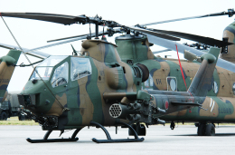 チャーリーマイクさんが、木更津飛行場で撮影した陸上自衛隊 AH-1Sの航空フォト(飛行機 写真・画像)