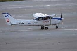 Tomochanさんが、函館空港で撮影した本田航空 172S Skyhawk SPの航空フォト(飛行機 写真・画像)