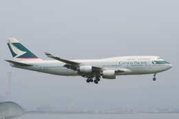 NIKEさんが、関西国際空港で撮影したキャセイパシフィック航空 747-467の航空フォト(飛行機 写真・画像)