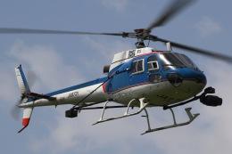 きりしまさんが、東京ヘリポートで撮影したアカギヘリコプター AS350B1 Ecureuilの航空フォト(飛行機 写真・画像)