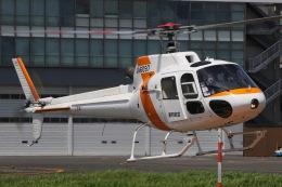 きりしまさんが、東京ヘリポートで撮影した東邦航空 AS350B2 Ecureuilの航空フォト(飛行機 写真・画像)