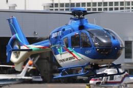 きりしまさんが、東京ヘリポートで撮影した東北エアサービス EC135P2+の航空フォト(飛行機 写真・画像)