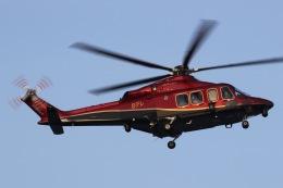 きりしまさんが、東京ヘリポートで撮影した日本法人所有 AW139の航空フォト(飛行機 写真・画像)
