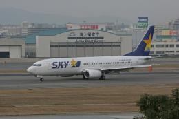 tsubameさんが、福岡空港で撮影したスカイマーク 737-86Nの航空フォト(飛行機 写真・画像)