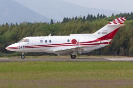 (新)ふぁんとむ改さんが、鹿屋航空基地で撮影した航空自衛隊 U-125 (BAe-125-800FI)の航空フォト(飛行機 写真・画像)