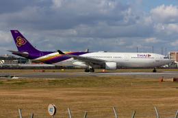 (新)ふぁんとむ改さんが、福岡空港で撮影したタイ国際航空 A330-321の航空フォト(飛行機 写真・画像)