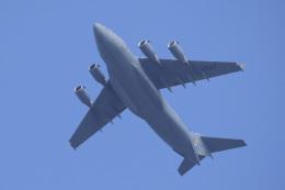 飛行機ゆうちゃんさんが、横田基地で撮影したアメリカ空軍 C-17A Globemaster IIIの航空フォト(飛行機 写真・画像)