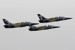 Tomo-Papaさんが、入間飛行場で撮影したブライトリング・ジェット・チーム L-39C Albatrosの航空フォト(飛行機 写真・画像)