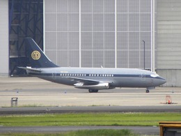 White Pelicanさんが、成田国際空港で撮影したスカイ・アヴィエーション 737-2W8/Advの航空フォト(飛行機 写真・画像)