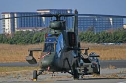 チャーリーマイクさんが、木更津飛行場で撮影した陸上自衛隊 OH-1の航空フォト(飛行機 写真・画像)