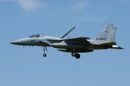 yabyanさんが、名古屋飛行場で撮影した航空自衛隊 F-15J Kai Eagleの航空フォト(飛行機 写真・画像)