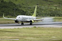 planetさんが、石垣空港で撮影したソラシド エア 737-86Nの航空フォト(飛行機 写真・画像)