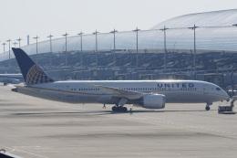神宮寺ももさんが、関西国際空港で撮影したユナイテッド航空 787-8 Dreamlinerの航空フォト(飛行機 写真・画像)