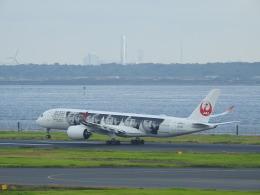 musaeru25cさんが、羽田空港で撮影した日本航空 A350-941の航空フォト(飛行機 写真・画像)