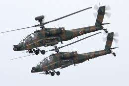 スカルショットさんが、明野駐屯地で撮影した陸上自衛隊 AH-64Dの航空フォト(飛行機 写真・画像)