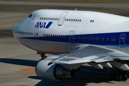 リゾッチャ(紫)さんが、羽田空港で撮影した全日空 747-481(D)の航空フォト(飛行機 写真・画像)