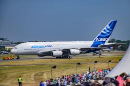 gomaさんが、ル・ブールジェ空港で撮影したエアバス A380-841の航空フォト(飛行機 写真・画像)