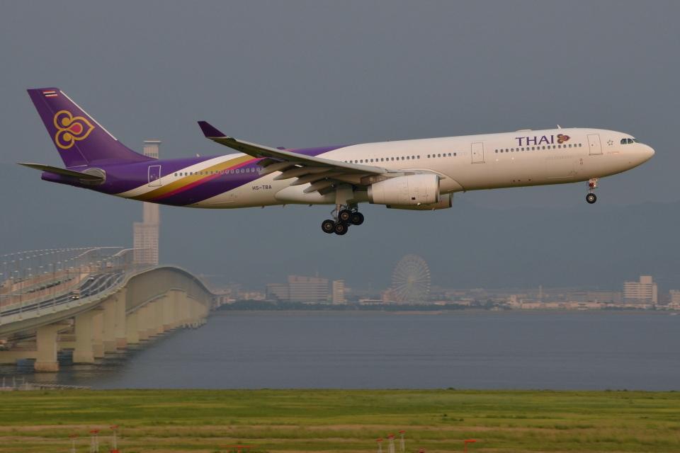 Deepさんのタイ国際航空 Airbus A330-300 (HS-TBA) 航空フォト